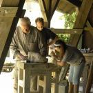 Hilfestellung auch für ältere Schnuppper-Bildhauer
